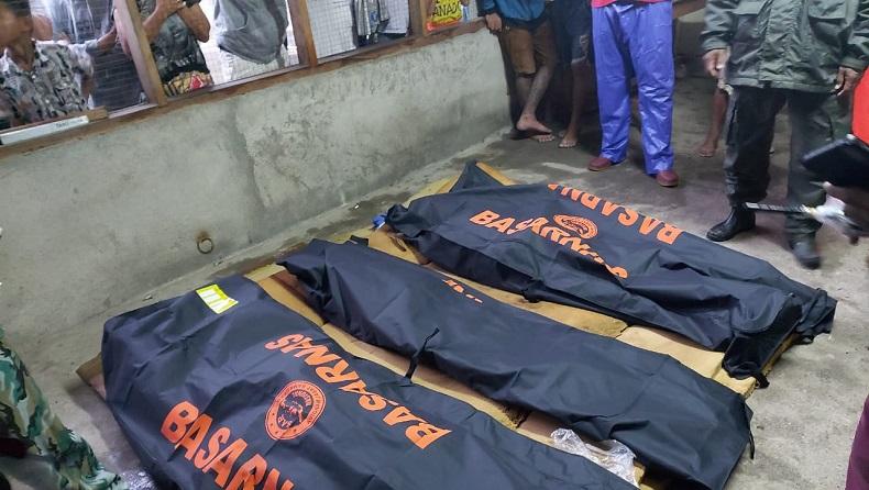 Tragis, Satu Keluarga di Manado Tewas Tertimbun Tanah Longsor