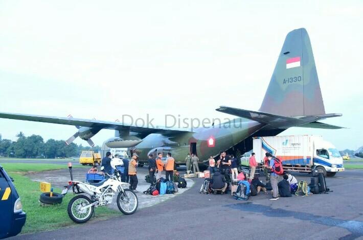 Salurkan Bantuan ke Banjarmasin dan Mamuju, TNI AU Kerahkan 5 Pesawat