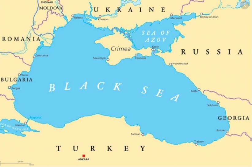 Kapal Kargo Rusia Tenggelam di Laut Hitam, Belasan Awak Terkatung-katung di Laut