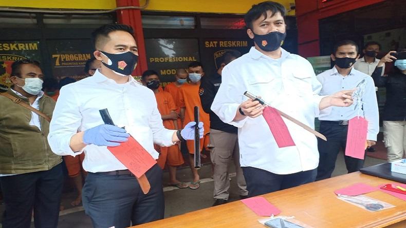 Beraksi di Tamansari dan Lukai 2 Mahasiswa Unisba, Dua Begal Ditangkap Polisi