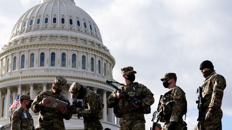 Lebih 150 Tentara AS Positif Covid seusai Kawal Pelantikan Joe Biden