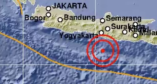 Gempa Bermagnitudo 5,0 Guncang Gunungkidul, Tak Berpotensi Tsunami