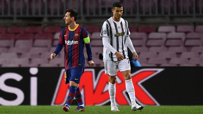 Lionel Messi dan Cristiano Ronaldo Masuk UEFA Team of the Year 2020