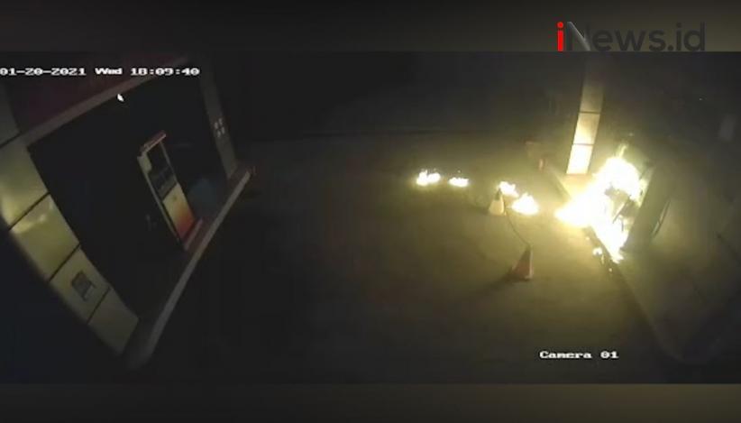 Pria Pembakar SPBU di Sikka Ditangkap, Polisi: Pelaku Mabuk