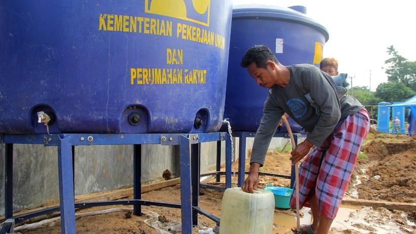 Kebutuhan Air Pengungsi Gempa Sulawesi Barat Masih Tercukupi - Bagian 2