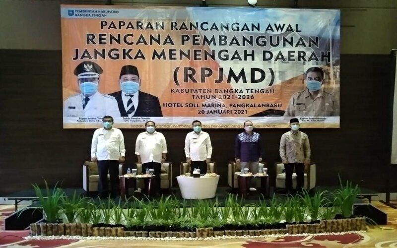 Bupati Bateng Bahas RPJMD Bersama Bupati dan Wabup Terpilih Periode 2021-2026
