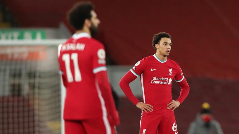 Pertama dalam 21 Tahun Liverpool Tak Bisa Bikin Gol di 4 Pertandingan