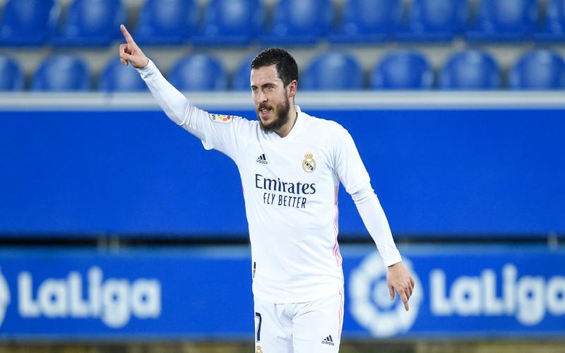 Real Madrid Bantai Alaves, Eden Hazard Buka Puasa Gol