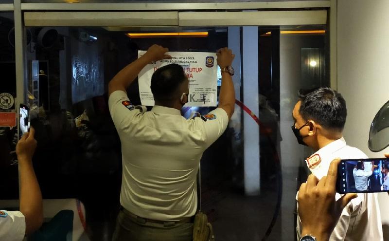 Delapan Tempat Usaha di Kota Bogor Langgar Aturan PPKM, Dua Disegel