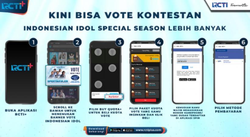 Idolamu Butuh Bantuan! Yuk Dukung di RCTI+ Supaya Bisa Melangkah Lebih Jauh di Indonesian Idol Special Season