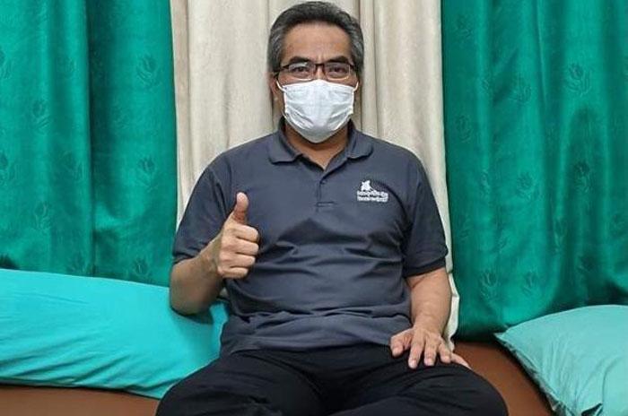 Jalani Isolasi di RSUD, Abdul Halim Sempat Ikuti Penetapan Hasil Pilkada Bantul 2020