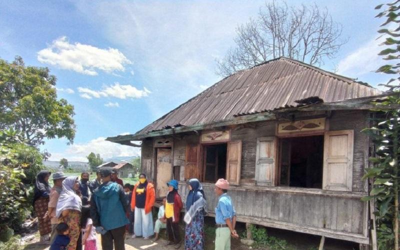 Miris, Keluarga dengan Gangguan Jiwa di Solok Tinggal di Rumah Tak Layak Huni