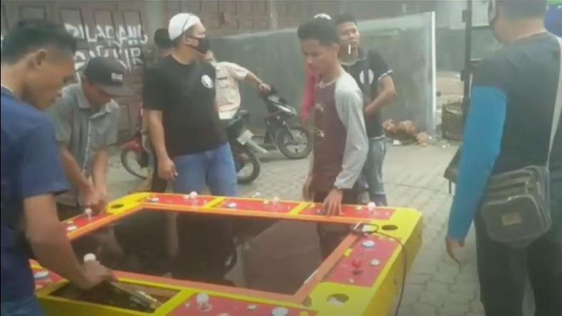 Polisi Gerebek Lokasi Judi di Medan Labuhan, 2 Mesin Tembak Ikan Disita