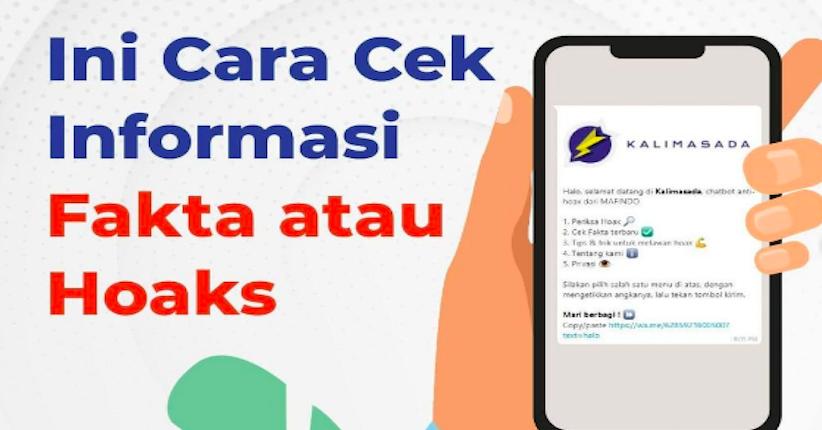 Cara Cek Informasi Hoax, Bisa Gunakan Chatbot WhatsApp