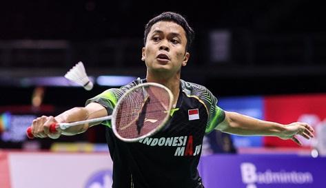 Anthony Ginting Menang Mudah, Indonesia Ungguli ROC 1-0 di Piala Sudirman 2021