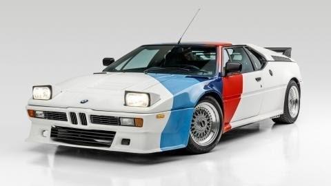 Mobil Paul Walker Kembali Dilelang, Kali Ini BMW M1 Produksi 1980
