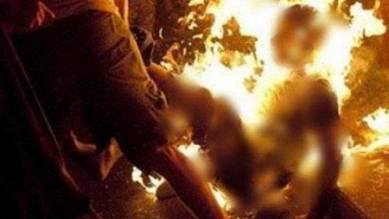 Sempat Dirawat, Pria Dibakar Hidup-Hidup oleh Tetangga Akhirnya Meninggal Dunia