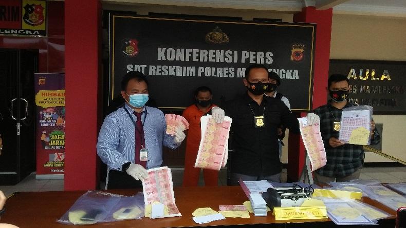 Eks Pegawai Bank Pemerintah di Majalengka Alih Profesi Jadi Bandar Uang Palsu