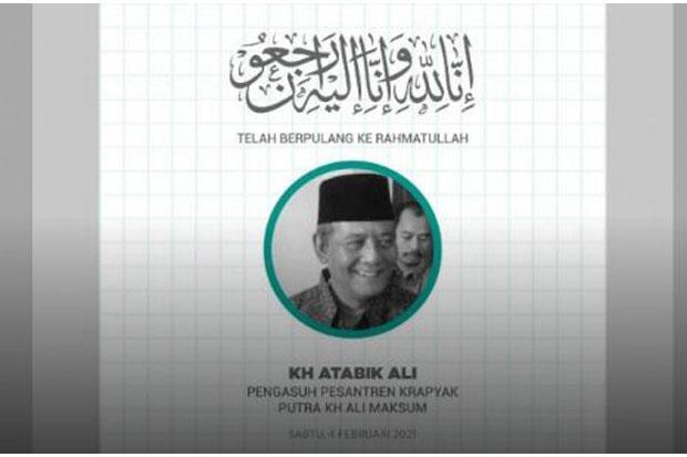 KH Atabik Ali, Mertua Anas Urbaningrum Sempat Menjalani Perawatan di Rumah Sakit