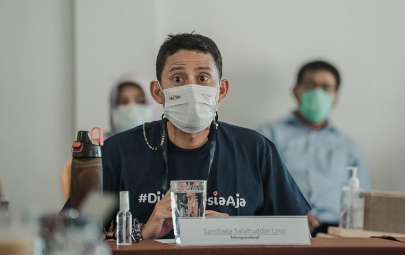 Sandiaga Uno Targetkan Tambah 6 Juta UMKM Masuk Platform Digital