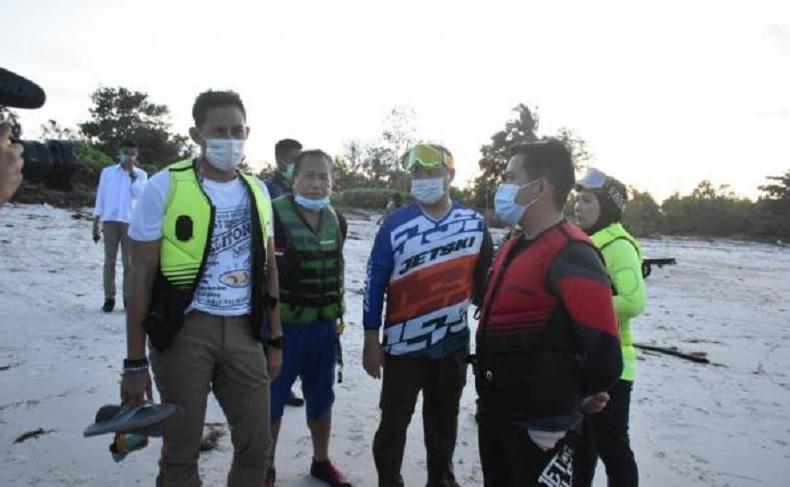 Menparekraf Sandiaga Uno Dukung Triathlon Series, Sebut Belitung Venue Terbaik