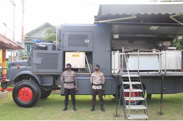 Polda DIY Bantu Dapur Lapangan untuk Korban Banjir Semarang