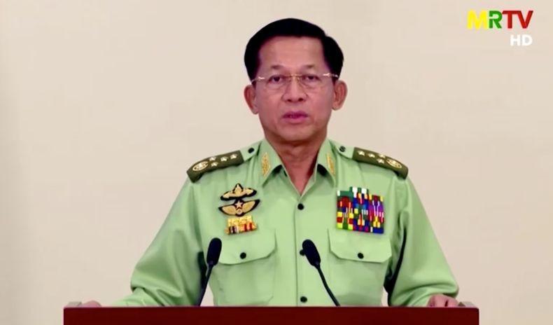 Pemimpin Junta Myanmar Min Aung Hlaing Tolak Pengungsi Muslim Rohingya