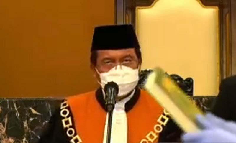 Undip Kukuhkan Ketua MA Muhammad Syarifuddin Jadi Guru Besar Ilmu Hukum Pidana
