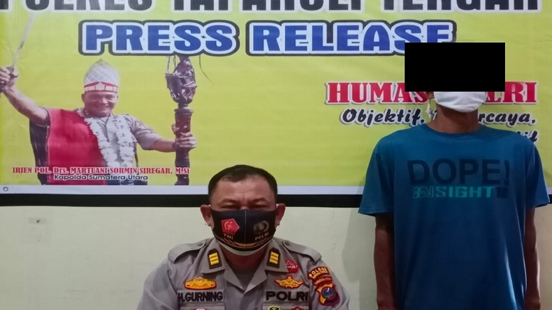 Simpan 1 Paket Sabu, Nelayan di Sibolga Ditangkap Polisi