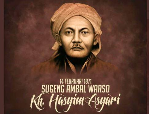 Peristiwa 14 Februari, Hari Lahir Pendiri NU KH Hasyim Asy'ari