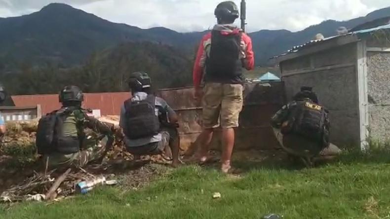 Perdamaian Perang Saudara di Puncak Papua Dikawal KKB, TNI-Polri Pilih Menahan Diri