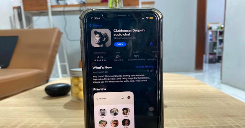 Aplikasi Clubhouse Ternyata Belum Terdaftar di Indonesia