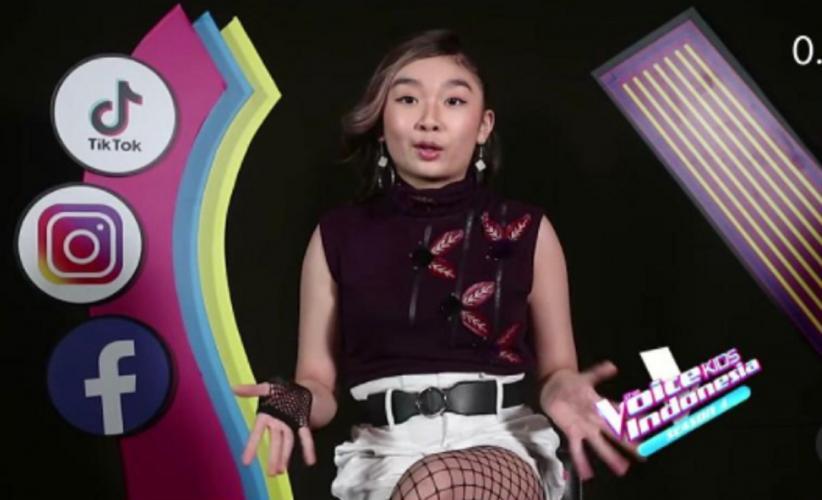 Bawakan Lagu Korea dari Red Velvet, Celine Gabriele Ajarkan Dance K-Pop pada Para Coaches
