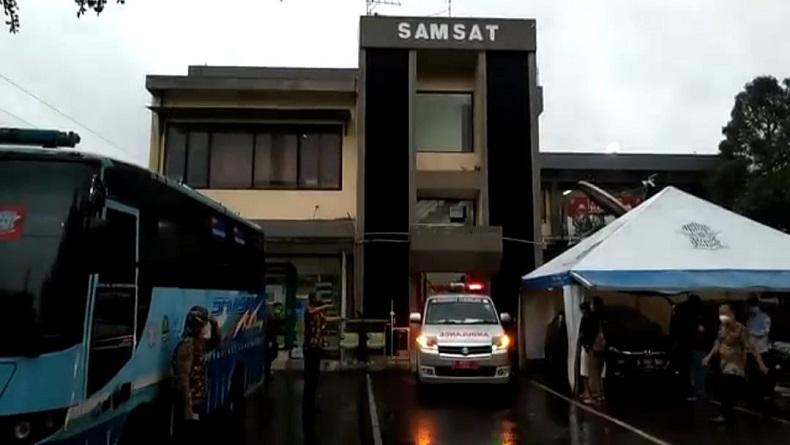 38 pegawai Samsat Ciamis Terpapar Covid-19, 8 Diisolasi di Asrama Haji