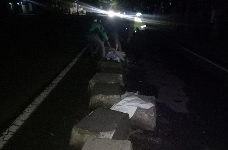 Tabrak Divider, Warga Sleman Tewas di Ring Road Barat Yogyakarta