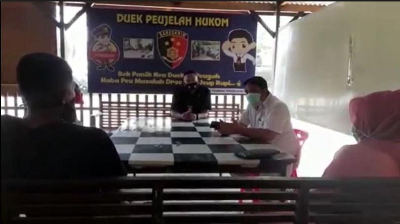 Bantu Masyarakat Selesaikan Masalah Hukum, Sartreskrim Polres Aceh Besar Buka Pojok Hukum