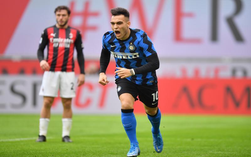Bantai AC Milan, Inter Makin Nyaman di Puncak Klasemen