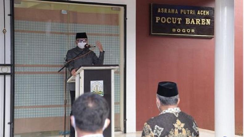 Gubernur Aceh Nova Iriansyah Resmikan 7 Asrama Mahasiswa Tersebar di Jawa-Sumatra