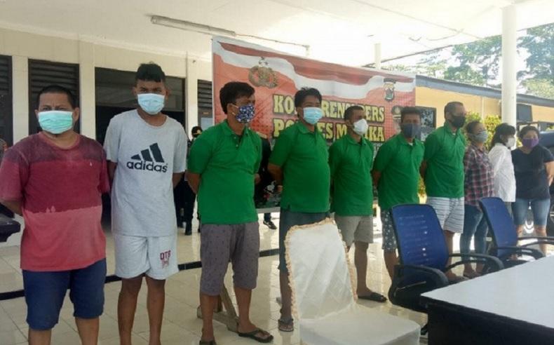 Hendak Transaksi Narkoba, 2 Pria di Mimika Papua Ditangkap