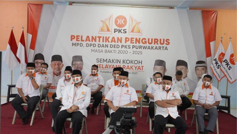 Pascapelantikan, PKS Purwakarta Ingin Buktikan sebagai Partai Rahmatan Lil Alamin