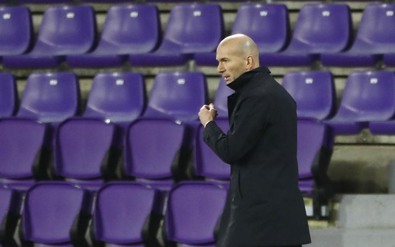 Zinedine Zidane Lega Real Madrid Menang meski dalam Kondisi Pincang