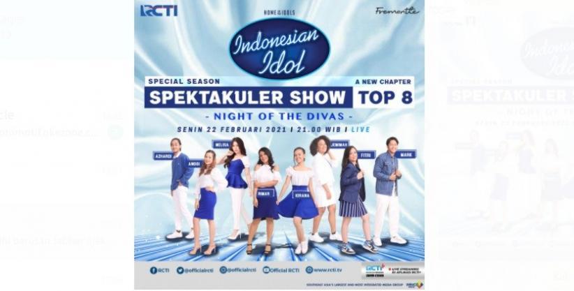 Istimewanya Spektakuler Show Indonesian Idol Malam Ini, Ada Tantangan Night of the Divas dan Akan Hadir Group K-Pop Aespa