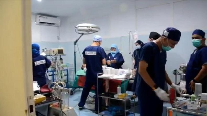 Bantu Warga saat Pandemi, Kodam Iskandar Muda Aceh Gelar Operasi Bibir Sumbing Gratis