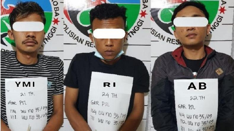 Kasus Penyalahgunaan Narkoba, 3 Pemuda di Bukittinggi Ditangkap Polisi