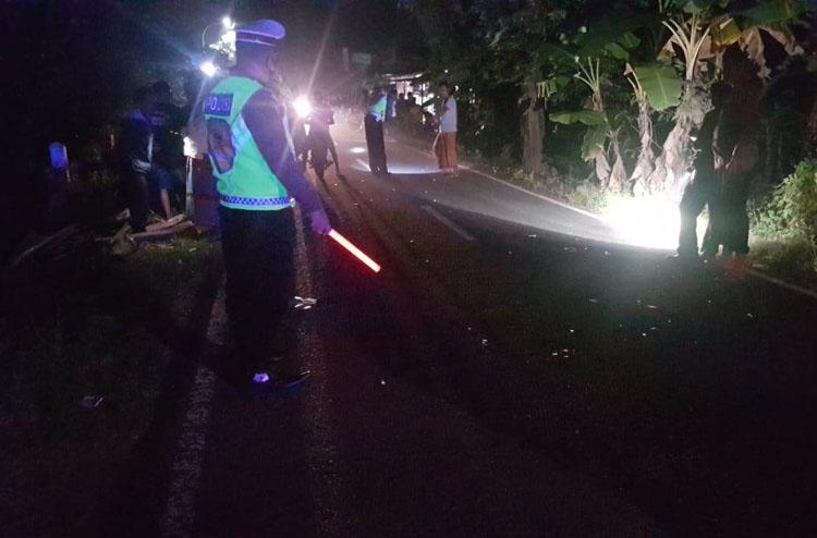 Kendarai Motor Tanpa Lampu, Bocah 14 Tahun di Kulonprogo Terlibat Kecelakaan
