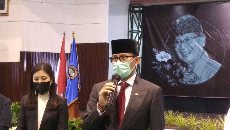Sandiaga Bakal Usulkan Vaksinasi Pekerja Wisata, Kick Off di Bali