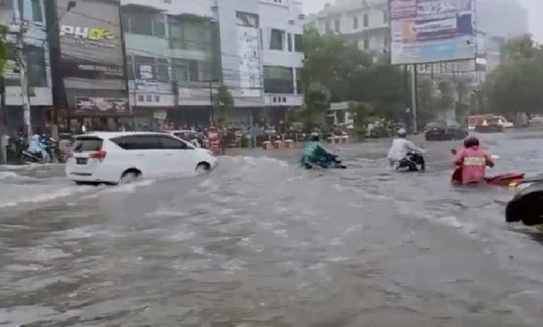 Ini 19 Titik Banjir di Kota Semarang, Ketinggian Air 20-75 Sentimeter