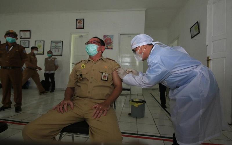 RSJ Sambang Lihum Kalsel Terima 500 Dosis Vaksin Covid-19