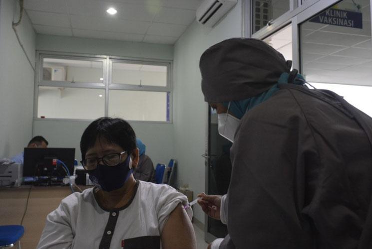 Wartawan Sleman Divaksin Covid-19, Dinkes: Bisa Sebarkan Informasi Manfaat Vaksinasi