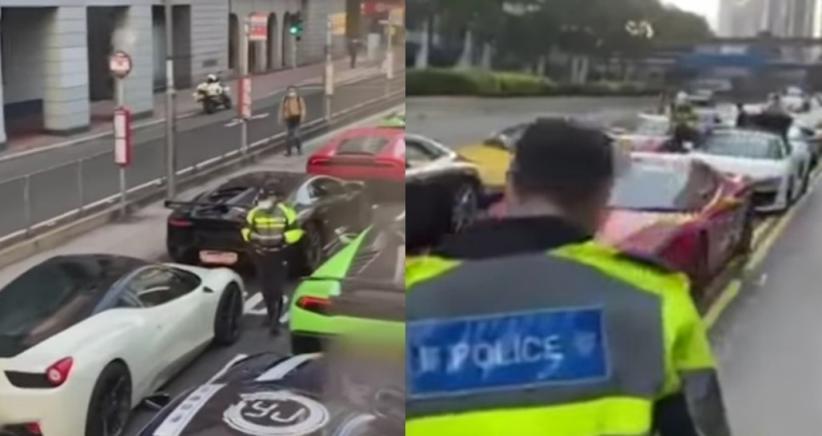 Polisi Tilang 45 Supercar karena Bikin Bising Warga, dari Porsche, Ferrari hingga Lamborghini